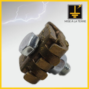 Griffe pour liaison 1 boulon acier galvanisé