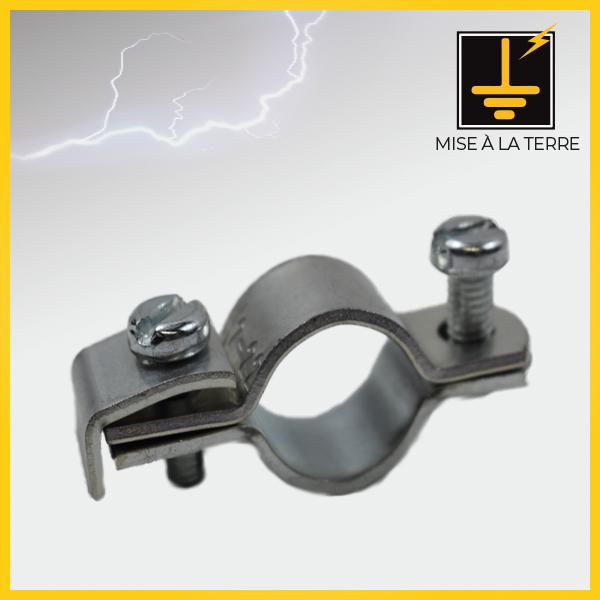 Colliers acier galvanisé