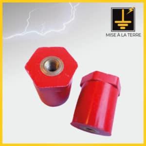 Isolateur en résine cylindrique